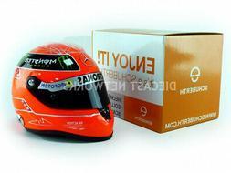 MINI HELMET 1/2 - CASQUES M. SCHUMACHER - MERCEDES GP F1 201