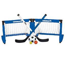 Franklin Sports Indoor Goal Set - Includes 2 Adjustable Hock