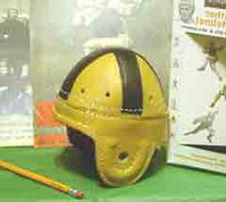 1940-50 Notre Dame mini style Leather Football Helmet