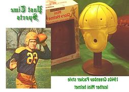 1940 Mini old Green Bay Leather Football Helmet