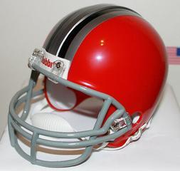 1966 - 1967 Ohio State Buckeyes Riddell Mini Helmet