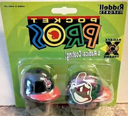 1998 Riddell Pocket Pro Mini Helmet Cleveland Indians