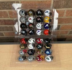 2015 MINI Riddle NFL FOOTBALL HELMETS COLLECTIBLE COMPLETE S