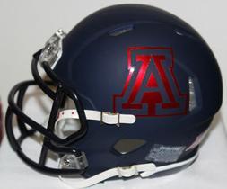 2017 Arizona Wildcats Custom Riddell Mini Helmet vs Utah Ute