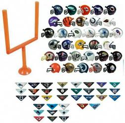 "2017 NFL Helmet Set. All 32 Teams. Mini Football 2"" Inch Hel"