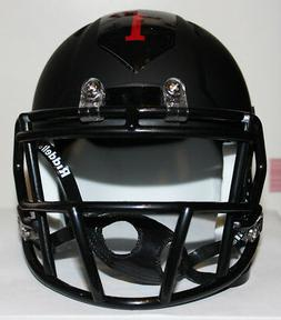 2018 Army Black Knights Big Red One Custom Riddell Mini Helm
