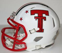 2018 Texas Tech Red Raiders Custom Riddell Mini Helmet vs TC