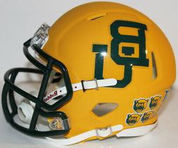 2019 Baylor Bears Custom Riddell Mini Helmet v Texas Tech