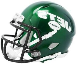 2019 NY JETS GREEN RIDDELL SPEED FOOTBALL MINI HELMET NEW IN
