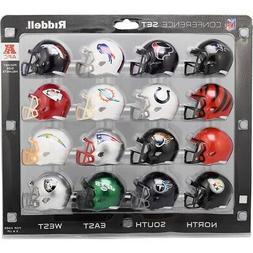 2020 AFC Conference Pocket Pro Helmet Set - 16 NFL Mini Pock
