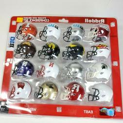 """2020 BIG TEN Conference NCAA Riddell Pocket Size Pro 2"""" Repl"""