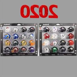 2020 Riddell NFL Pocket Pro Mini Helmet Complete Set  AFC &