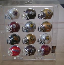32 Different Mini Riddel Pocket Size College Football Helmet