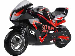 36v 500w electric pocket bike gt red