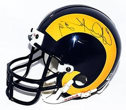 AUTOGRAPHED Eric Dickerson #29 St. Louis Rams Football  Vint