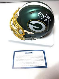 Aaron Rodgers Green Bay Packers Signed Autograph Blaze Speed