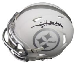 Antonio Brown Autographed Pittsburgh Steelers Ice Mini Helme