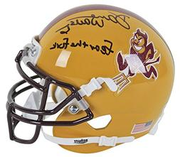 Asu Darren Woodson Fear The Fork Certified Signed Autographe