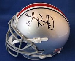 Autographed Chris Spielman Ohio State University Mini Helmet