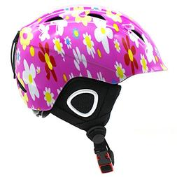 BeBeFun Toddler and Kids Snow Sports Helmet Age 3-7 and 8-15