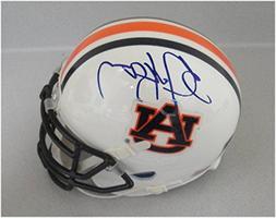 Bo Jackson Hand Signed Auto Mini Helmet Auburn Oakland Raide