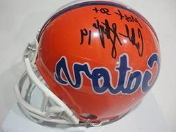 Caleb Sturgis Florida Gators Signed Autographed 50+ Riddell