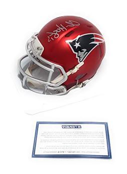 Chris Hogan New England Patriots Signed Autograph Blaze Spee