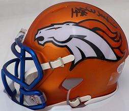 DeMarcus Ware Autographed Orange Blaze Denver Broncos Speed