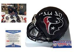 Deshaun Watson Signed Houston Texans Mini-Helmet - Beckett -