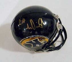Dri Archer Signed Kent State Golden Flashes Mini Helmet w/CO