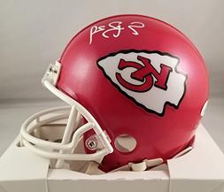Eric Berry Autographed Signed Mini Helmet Kansas City Chiefs