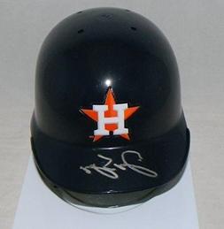 George Springer Signed Autographed Houston Astros Mini Batti