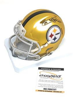 Hines Ward Pittsburgh Steelers Signed Autograph Blaze Speed