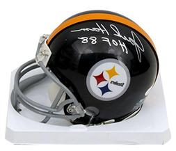 Jack Ham Pittsburgh Steelers Signed/Autographed Black Mini H