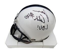 Jason Cabinda Penn State/PSU Autographed/Signed Mini Helmet
