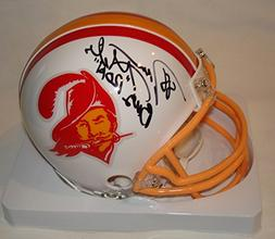 Jimmie Giles Signed / Autographed Tampa Bay Buccaneers Mini
