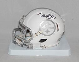 LeVeon Bell Autographed Pittsburgh Steelers ICE Speed Mini H