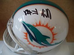 MIKE GESICKI MIAMI DOLPHINS #86 SIGNED AUTOGRAPHED RIDDELL M