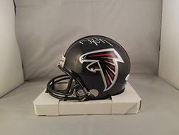 Michael Vick Autographed Signed Mini Helmet Atlanta Falcons