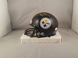 Michael Vick Autographed Signed Mini Helmet Pittsburgh Steel