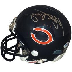 Mitch Trubisky Autographed Chicago Bears Mini Helmet - PSA