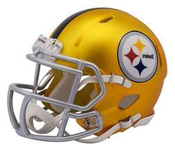 7a0a5080b New Riddell Pittsburgh Steelers Blaze Alternate Speed Mini F