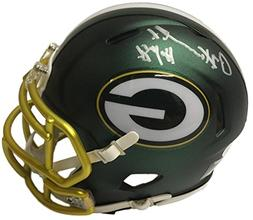 Paul Hornung Signed Green Bay Packers Riddell Blaze Mini Hel