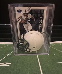 Penn State Nittany Lions NCAA Helmet Shadowbox w/Saquon Bark