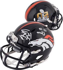 Peyton Manning Denver Broncos Autographed Riddell Super Bowl