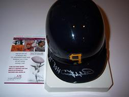 Ralph Kiner Pittsburgh Pirates,hof coa Signed Mini Helmet -