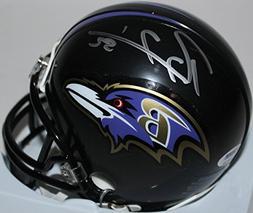 Ravens Ray Lewis Authentic Signed Mini Helmet Autographed PS