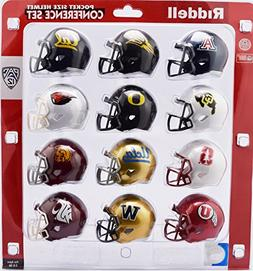 Riddell Pocket Pro Speed Helmet PAC 12 Conference Set 12 Hel