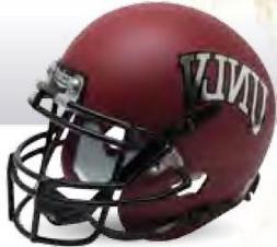 Riddell UNLV RUNNIN REBELS NCAA Schutt MINI Football Helmet