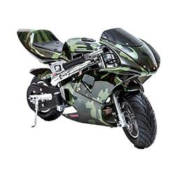 SAY YEAH Gas Pocket Bike Powersports Kids Motorcycle Ride-on